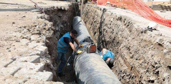 OSKİ Fatsa'ya yeni hattan su vermeye başladı