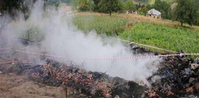 Akkuş ilçesinde yangın 3 ölü