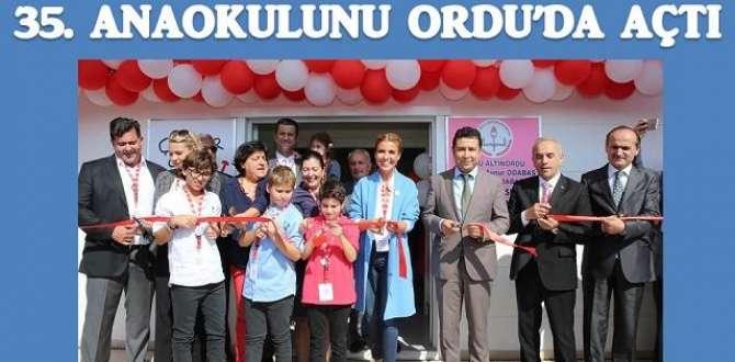 ORDU'DA GÜLBEN ERGEN FIRTINASI ESTİ