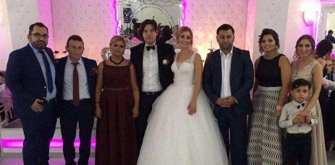 Banu ile Berat Evlendı