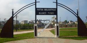 FATSA ELEKÇİ PARKINDAN GÜZEL MANZARALAR